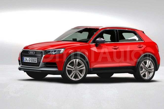 Futur Audi Q1 Comme 231 A