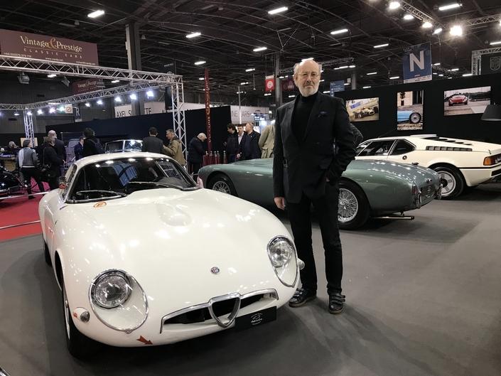 """Les coups de coeur de """"Maître"""" Bellu - Vidéo en direct de Rétromobile 2019"""