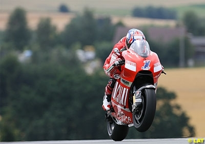 Moto GP - Allemagne D.2: Stoner, über alles