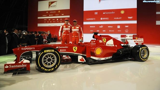 F1 : la nouvelle Ferrari F138 a un joli nez (qui coule)