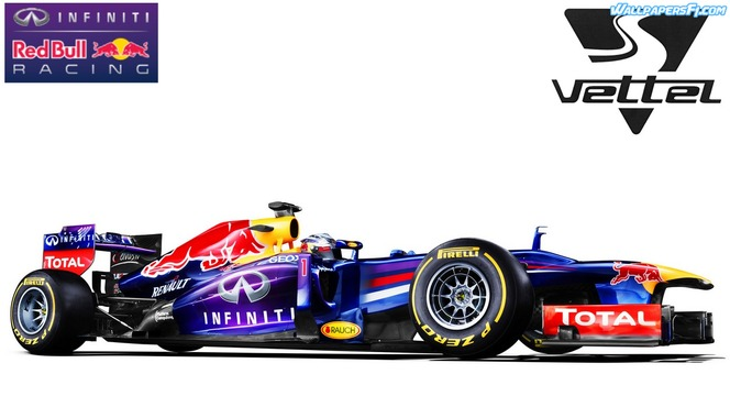 F1 2013 : Red Bull dévoile sa RB9 pourpre !
