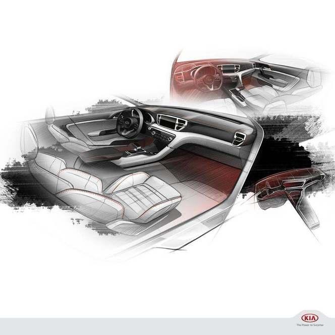 Salon de Francfort 2015 : Kia tease son nouveau crossover Sportage