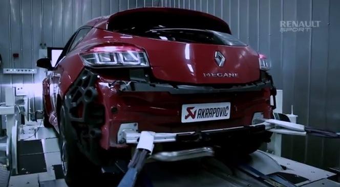 Première vidéo de la Renault Megane R.S Ultra
