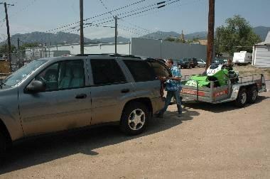 Les marluches à Pikes-Peak : une première semaine de préparation