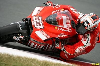 Moto GP - Ducati: Annonce officielle de la séparation avec Melandri