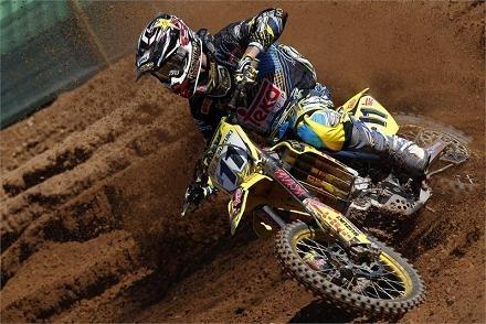 Motocross mondial :  Lettonie, bon week-end chez Suzuki en MX 1