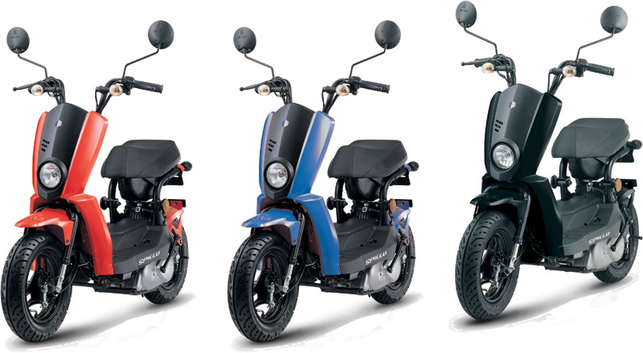 Le scooter Gamax Spillo ? 1,3 l/100 km !