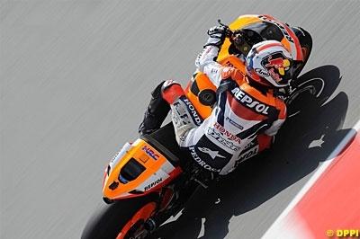 Moto GP - Allemagne D.3: Pedrosa est du matin
