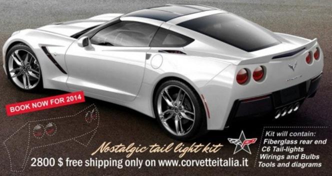 Un tuner italien propose déjà une modification pour la Chevrolet Corvette C7 Stingray