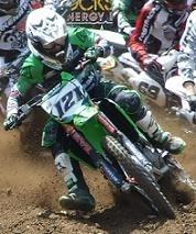 """Motocross mondial en Lettonie :  Kawasaki KRT, Xavier Boog continue d'apprendre, """"Comme il le dit"""""""
