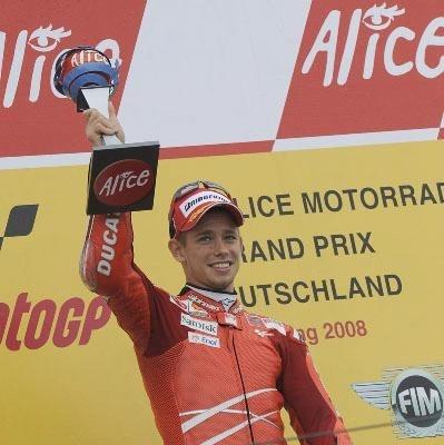 """Moto GP - Allemagne Stoner: """"Dani a été impressionnant"""""""