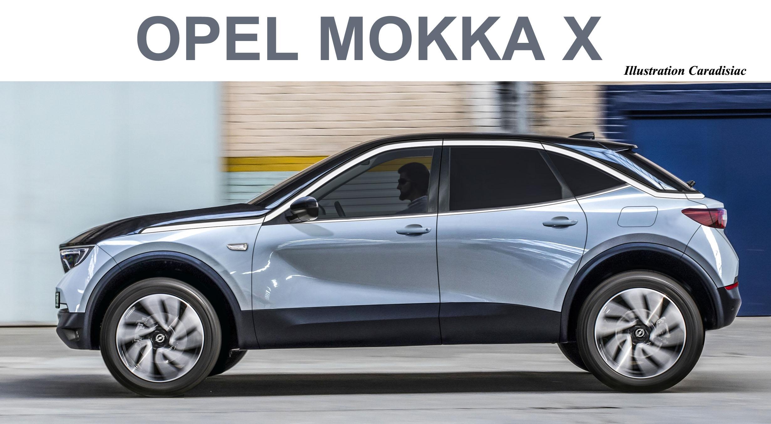 le nouveau opel mokka x arrive en 2020. Black Bedroom Furniture Sets. Home Design Ideas