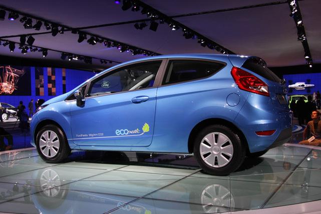 Salon de Londres : la Ford Fiesta ECOnetic à 98 g CO2/km !