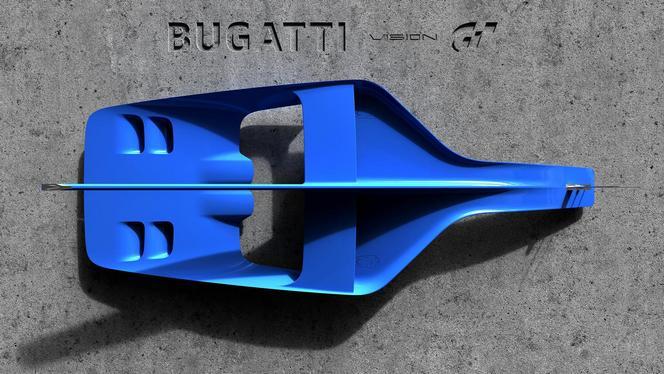 Bugatti dévoile un bout du concept Vision Gran Turismo