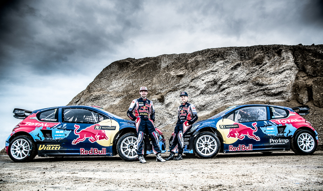 RallycrossRX - Le team Peugeot-Hansen lance sa saison