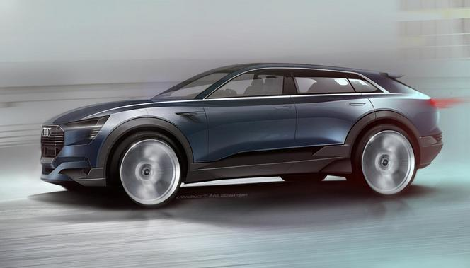 Salon de Francfort 2015 : Audi e-tron Quattro concept