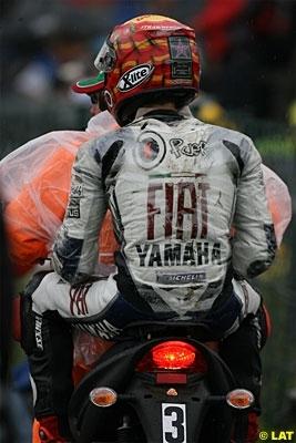 Moto GP - Allemagne: Lorenzo a chuté mais ne s'est pas cassé