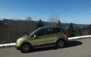 Essai - Suzuki SX4 S-Cross 1.6 VVT Pack 4X2 : les sens au vert