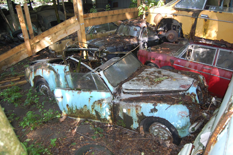 du cimetière automobile de