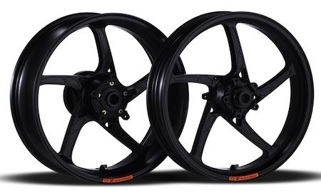 Jantes OZ: du beau, du léger, du rigide pour la Ducati 899 Panigale