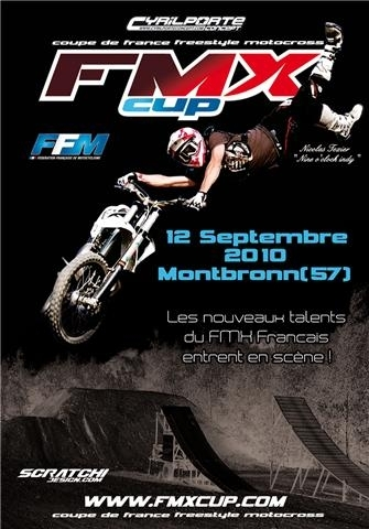 Une nouvelle catégorie Challenge FMX Cup vient en complément de la Coupe de France de Freestyle…