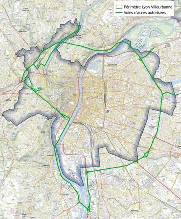 Vignette Crit'Air: Lyon adopte la circulation différenciée