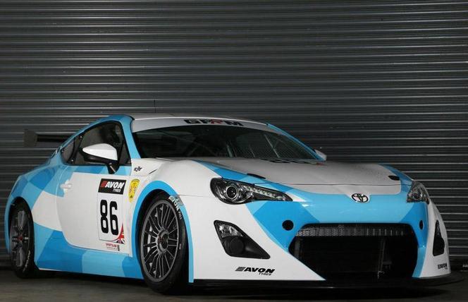 Voici la nouvelle Toyota GT-86 GT4