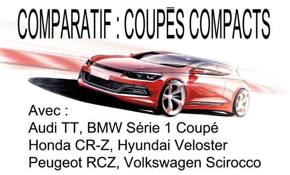 Comparatif : coupés compacts