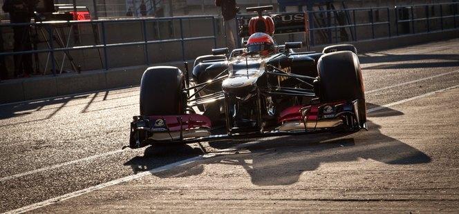 Essais F1 Jerez - Jour 1 : Jenson Button roule peu mais vite