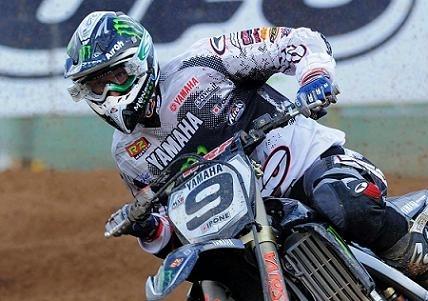 Motocross mondial :  Lettonie, Yamaha plus discret qu'en Allemagne