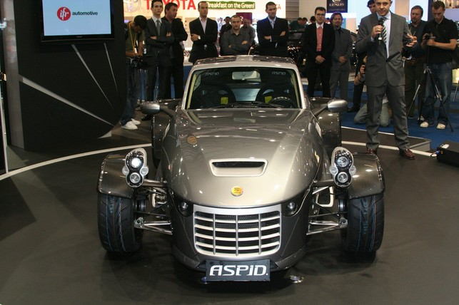 Salon de Londres : IFR Automotive Aspid