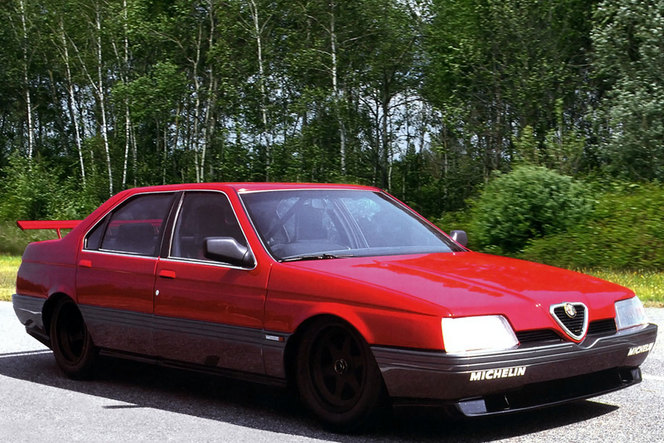 (Souvenons-nous) Alfa Romeo 164 Pro Car
