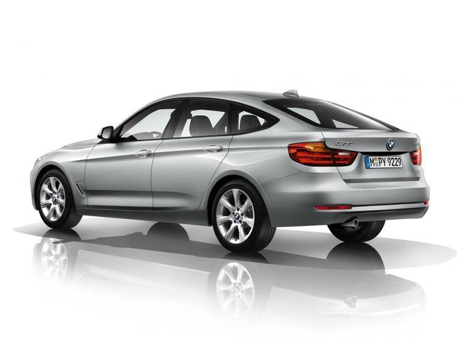 La future BMW Série 3 GT s'échappe