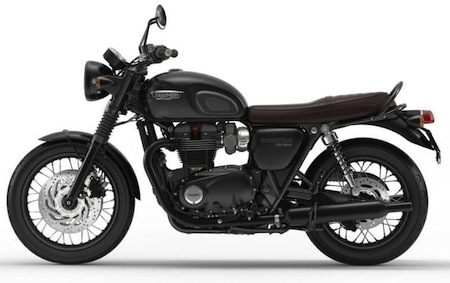 Nouveauté 2016: Triumph Bonneville T120 Black