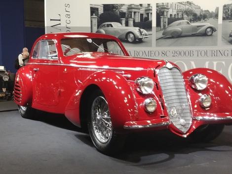 Alfa Romeo 8C 2900B 1939 vendue 16,7millions d'euros le 8février dernier