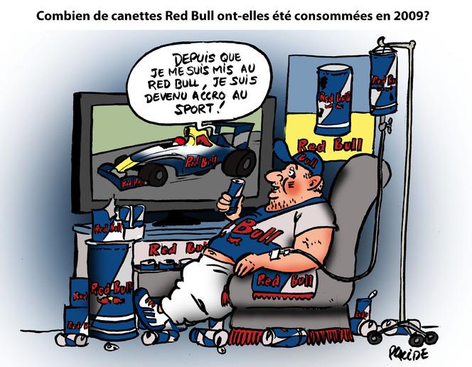Le dessin du jour - Red Bull : fournisseur d'énergie