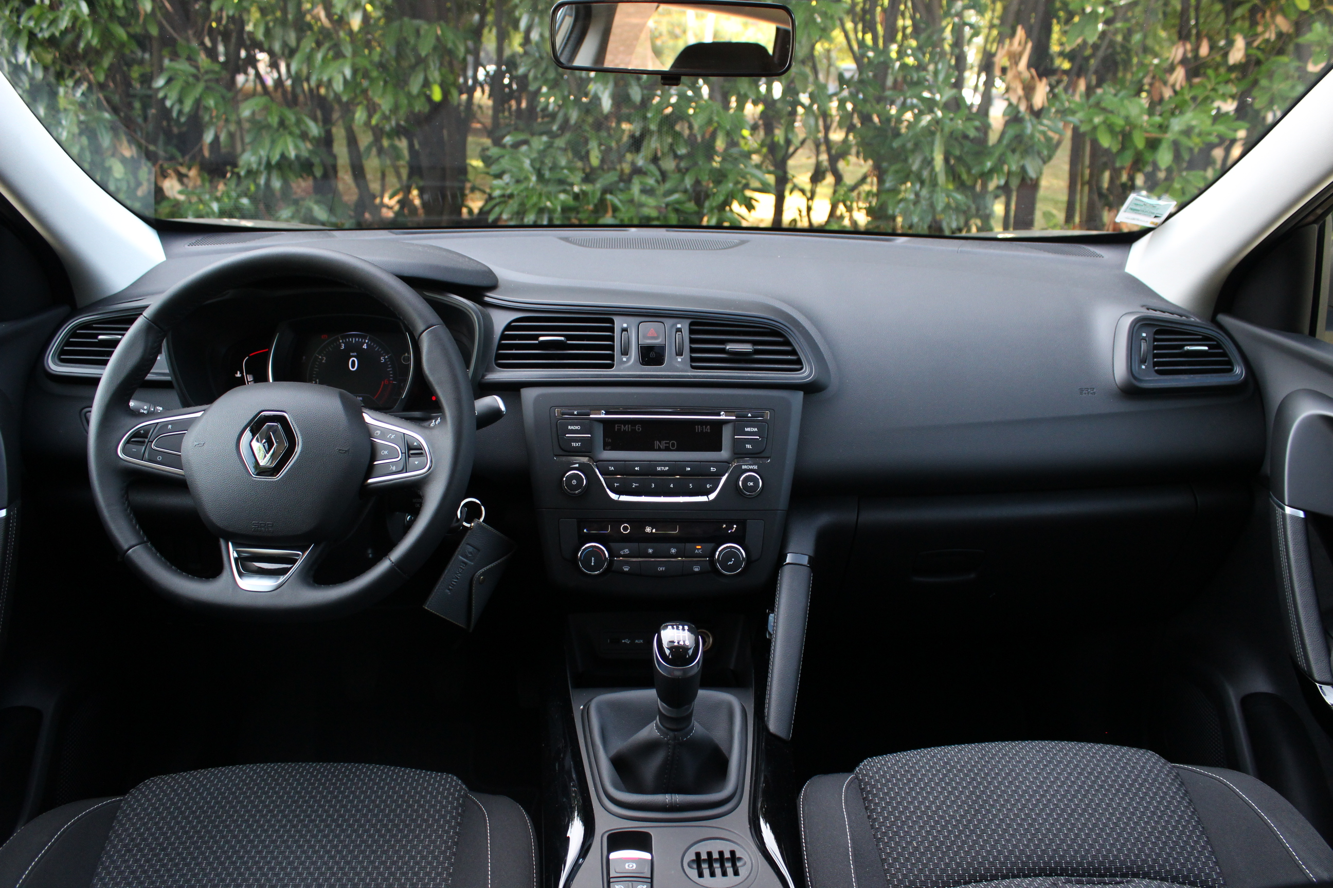 A l 39 int rieur du renault kadjar for Photos interieur