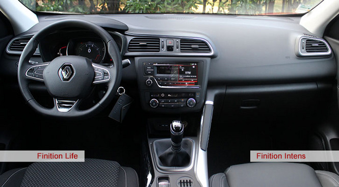 A l 39 int rieur du renault kadjar for Kadjar interieur 7 places