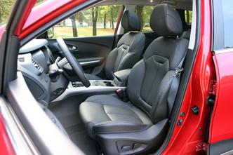 A l'intérieur du Renault Kadjar