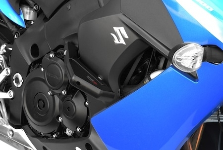 Top Block: patins pour Suzuki GSX-F 1000
