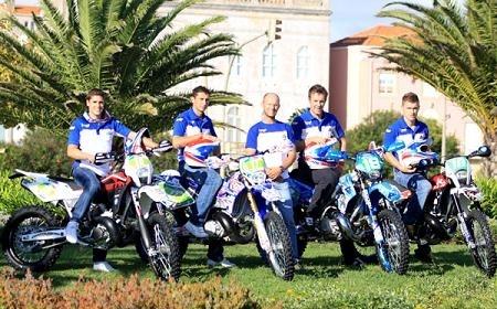 ISDE 2009 : les motos sont en parc fermé
