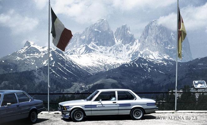 (Minuit pile) Alpina bien positionné