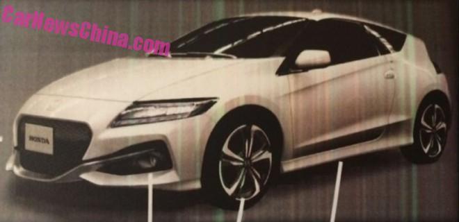 Honda : le restylage du CR-Z en fuite