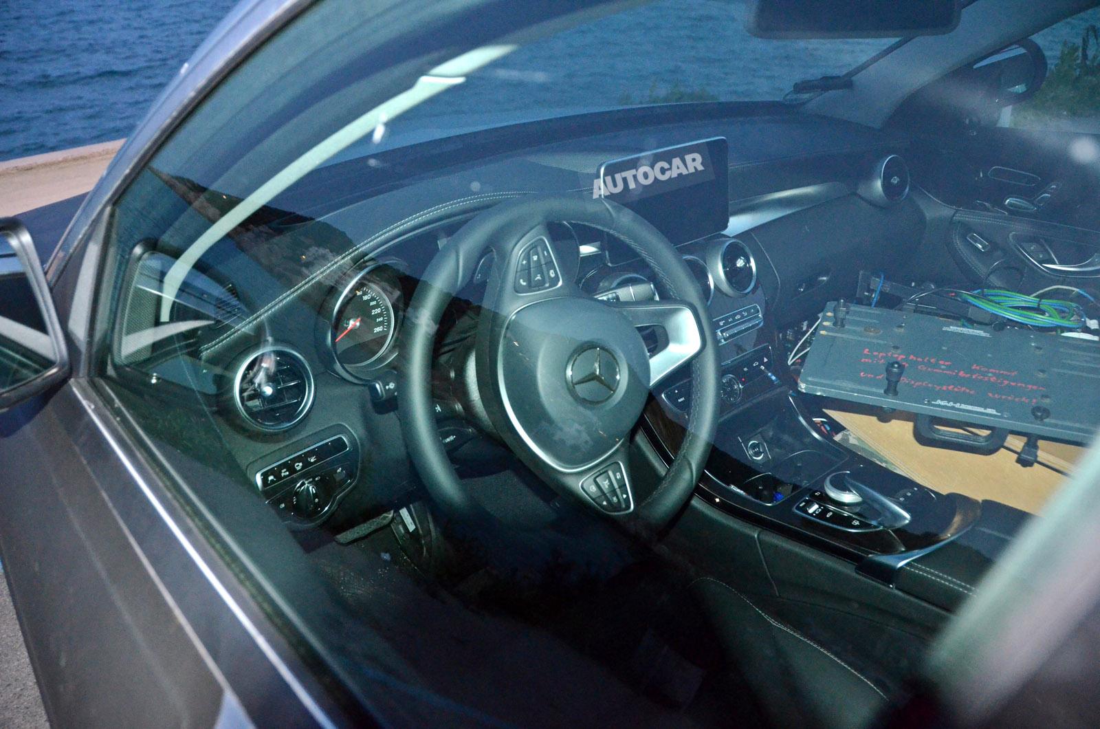 Une Mercedes Classe C Hybride Rechargeable En 2015