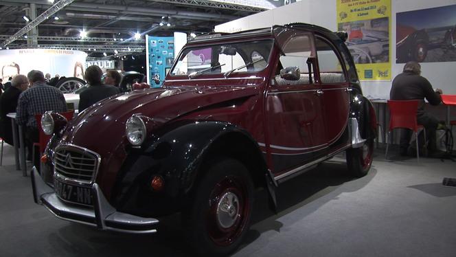 Vidéo en direct de Rétromobile 2013 - Hommage aux cabriolets chez Citroën