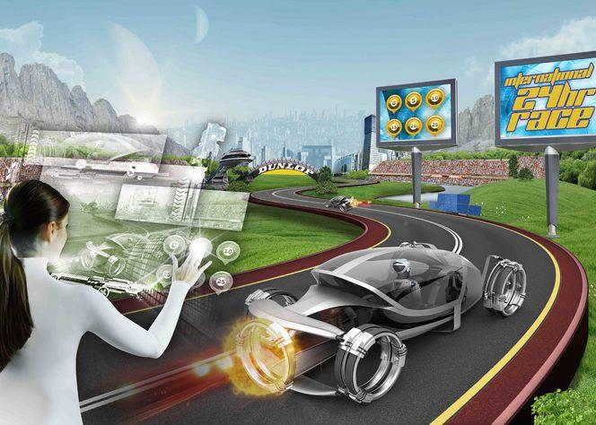 Participez au projet de design de la voiture de course du futur avec Dunlop