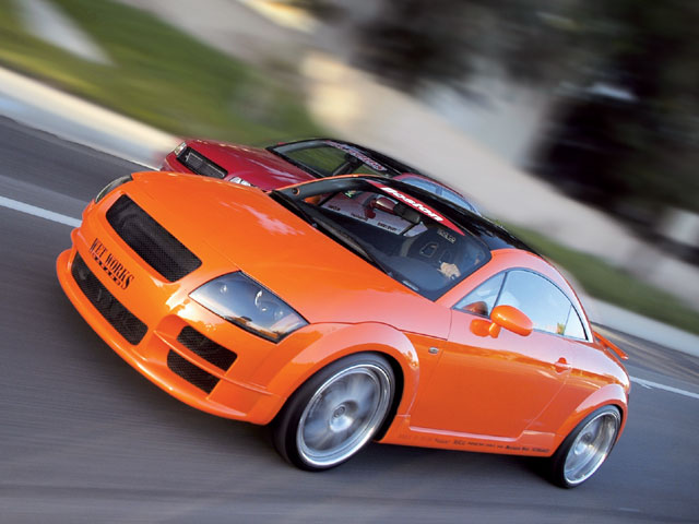 Solar Orange Audi TT RS Coupe