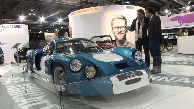 Vidéo en direct de Rétromobile 2013 - Deux sportives à l'honneur chez Renault