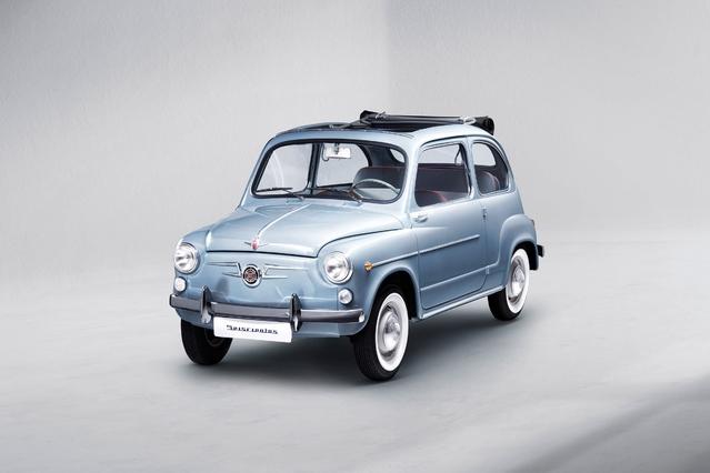 Seat fête les 60 ans de la 600 avec un modèle entièrement restauré