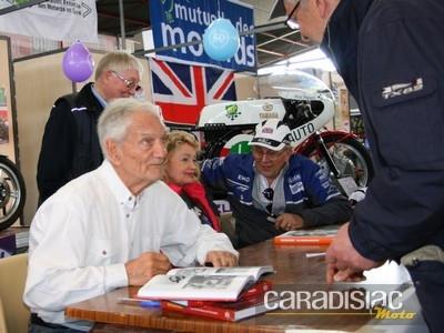 Salon de la Moto de Limoges 2014: Jim Redman, Phil Read et les autres...